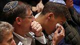 In Pittsburgh's 'darkest hour,' 2,500 attend synagogue massacre memorial
