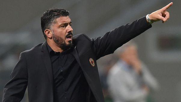 Milan coach Gattuso wants 23 angry dogs against Sampdoria