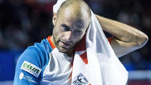 Tennis: Copil primo finalista a Basilea