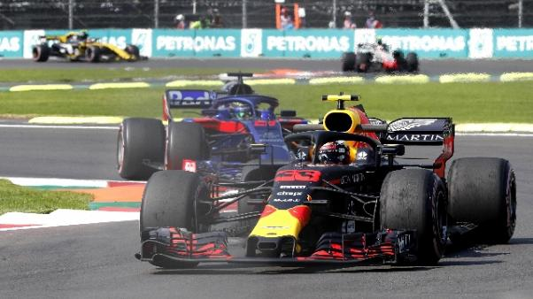 F1: Messico, ultime libere a Verstappen