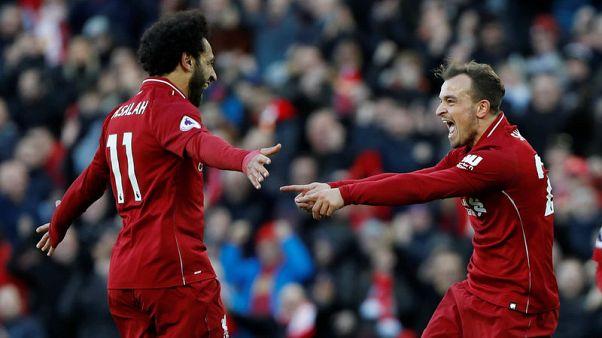 صلاح وماني يقودان ليفربول للانتصار على كارديف وانتزاع قمة دوري إنجلترا