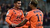 Ligue 1: Lyon sauvé par Depay à Angers