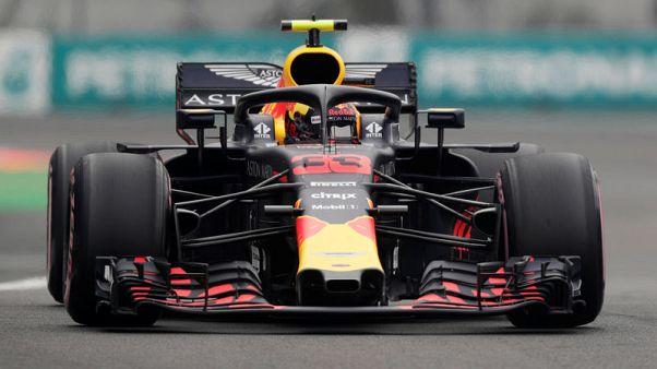 Verstappen completes practice hat-trick in Mexico