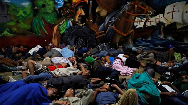 Central American caravan moves on in spite of Mexico jobs offer