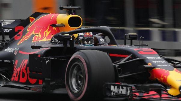 F1:Messico, Ricciardo in pole, Vettel 4°