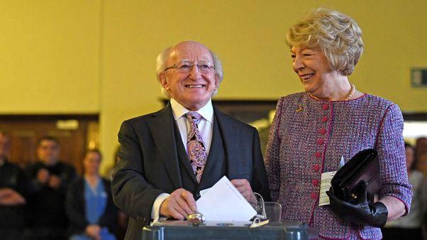Ireland re-elects president, set to dump blasphemy law