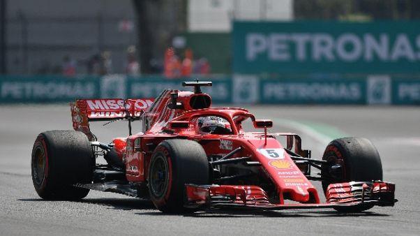 """F1: Vettel """"altri meglio nelle curve"""""""