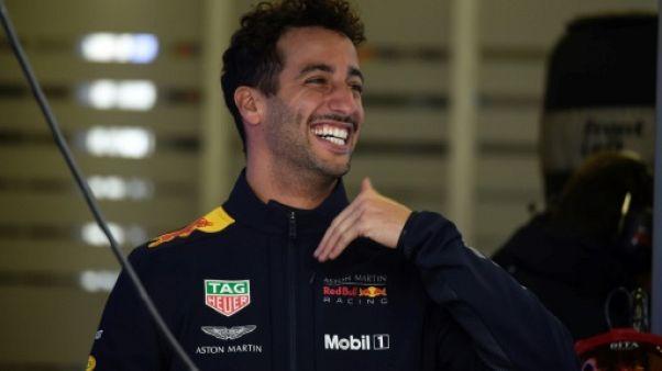 L'Australien Daniel Ricciardo (Red Bull), le 27 octobre 2018 à Mexico