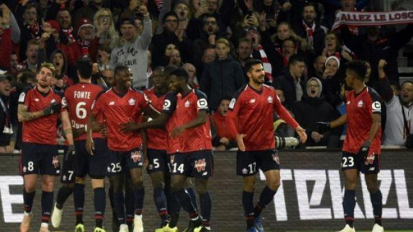 Ligue 1: sans briller, le Losc poursuit sur sa lancée