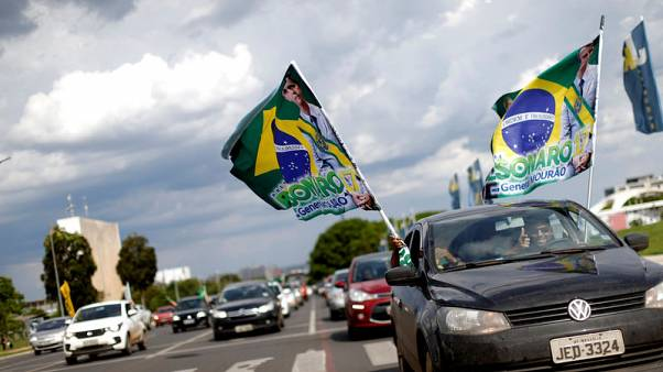 Brazil leftist's hopes of catching Bolsonaro slim, but gap narrows