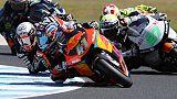 Gp Australia:vittoria di Binder in Moto2