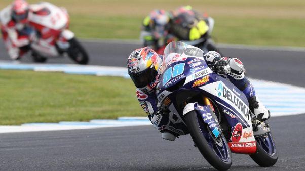 Gp Australia: successo Arenas in Moto3