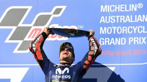 MotoGP: Vinales et Yamaha se remettent à gagner au GP d'Australie, Honda KO