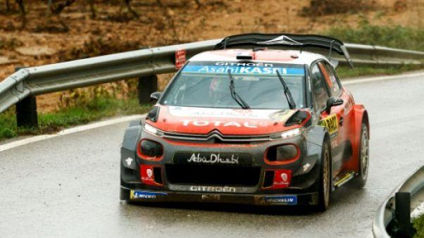 Rallye de Catalogne: Loeb (Citroën) prend la tête après l'ES15