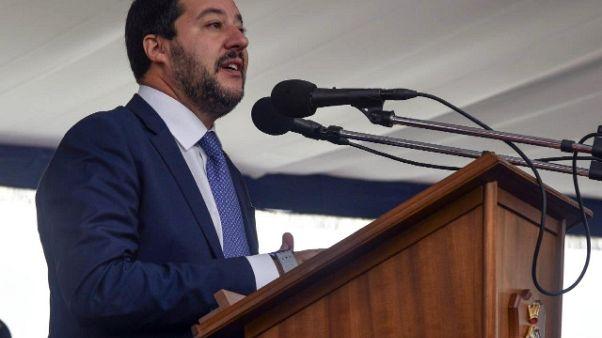 Salvini, su dl Sicurezza andremo avanti