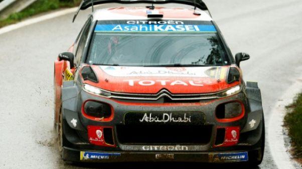 Rallye de Catalogne: Loeb en tête devant Ogier avant la dernière spéciale
