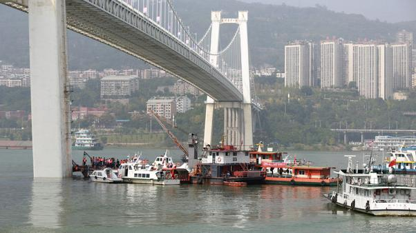 Two dead after China bus plunges 60 metres into river - state media