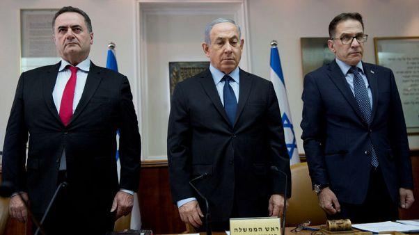 مجلس الوزراء الإسرائيلي يقف دقيقة حدادا على ضحايا هجوم بنسلفانيا