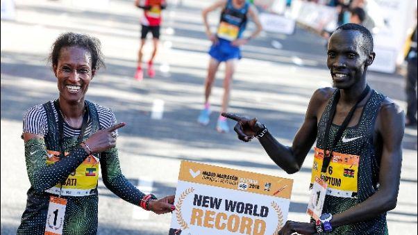 Kiptum batte il record di mezza maratona