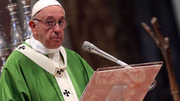 البابا فرنسيس يدين الهجوم على معبد بنسلفانيا