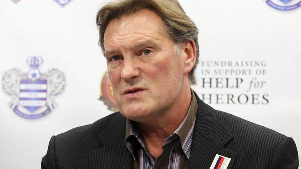 Ex-England manager Hoddle responding well after heart attack