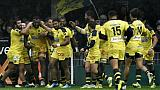 Top 14: Clermont et Paris restent en haut, Toulon en bas
