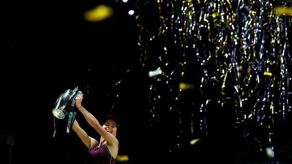 Svitolina subdues Stephens to claim WTA Finals triumph