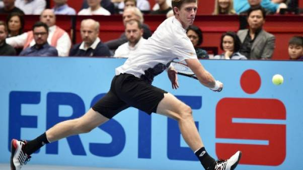 Tennis: Anderson domine Nishikori en finale à Vienne