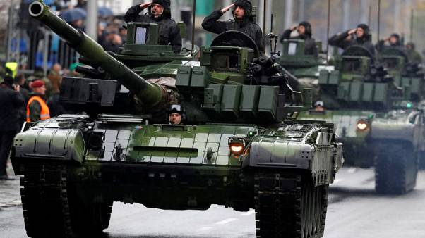 Czechs celebrate centenary with largest military parade since communist era