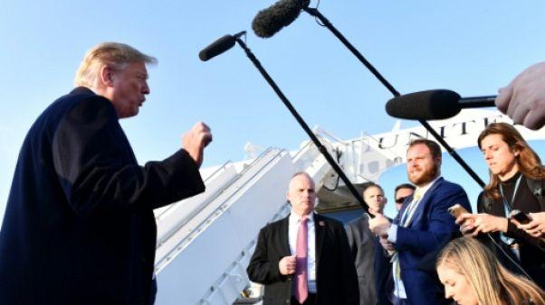 Trump prend de la hauteur, mais par intermittence