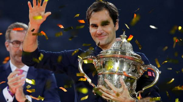 Federer beats Copil to win 99th career title in Basel