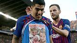 Espagne: le Barça de Suarez humilie le Real de Lopetegui 5-1