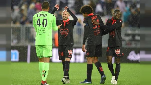 Ligue 1: Nice s'impose à Bordeaux, avant OM-PSG