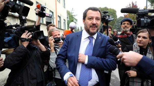 Salvini, Draghi? Fatto tanto per Italia