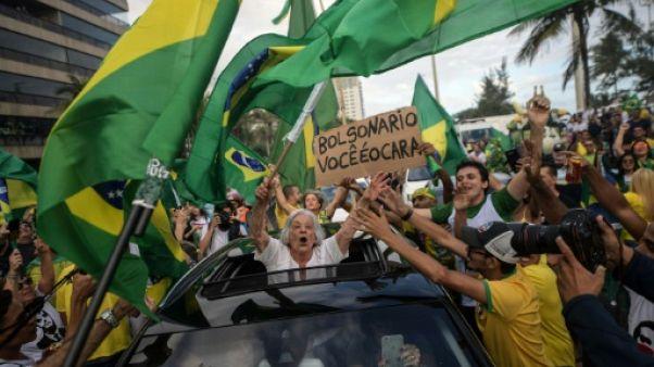 Les partisans de Bolsonaro en liesse dans les rues du Brésil