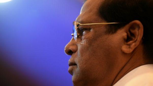 Crise politique au Sri Lanka: le président Sirisena sous pression