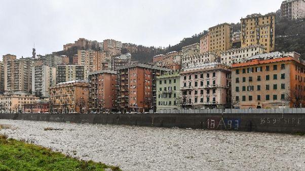 Genova in allerta rossa senza criticità