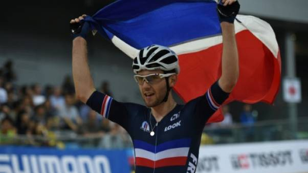 Cyclisme sur piste: Benjamin Thomas vainqueur de l'omnium en Coupe du monde