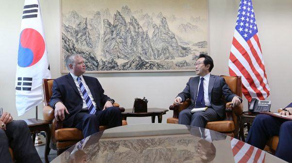 "U.S. urges North Korea denuclearisation before ""shared goal"" of ending war"