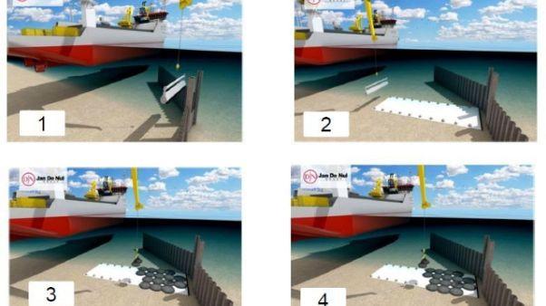 Tap: maltempo fa slittare lavori in mare