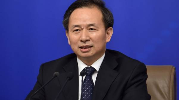 China environment facing pressures from economic slowdown -minister