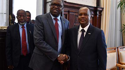 Elections présidentielles : le Président p.i reçoit la mission d'observation de la SADC (Communauté de Développement de l'Afrique Australe)
