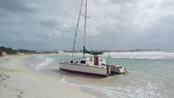 Maltempo: barche alla deriva in Salento