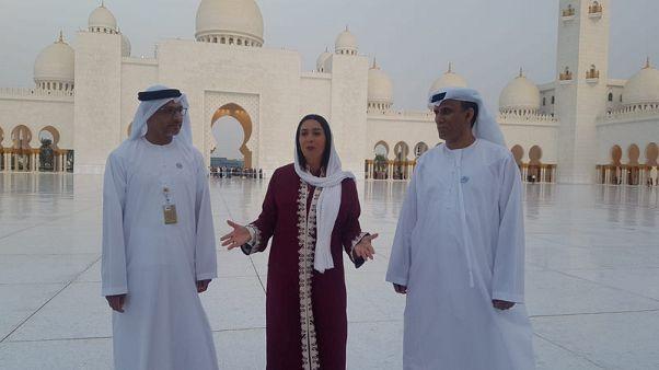 زيارة وزيرة إسرائيلية لمسجد إماراتي تلقي الضوء على جهود دبلوماسية في الخليج