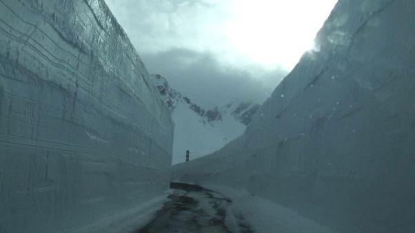 Neve in quota,chiude Piccolo S. Bernardo