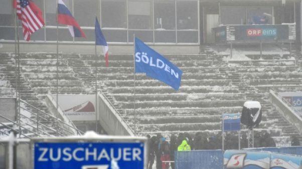 Ski alpin: le géant de Sölden reprogrammé à Saalbach le 20 décembre