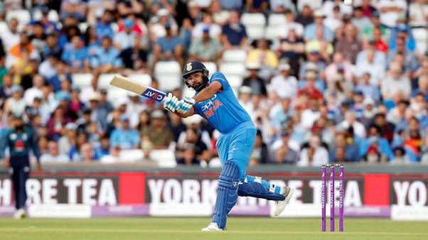 Rohit ton helps India steamroll West Indies in Mumbai
