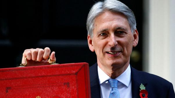 UK borrowing to fall, opening way for end of austerity - Hammond