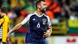 الاسكتلندي مكارثر لاعب كريستال بالاس يعتزل اللعب دوليا
