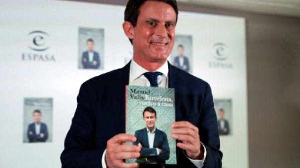 Manuel Valls dénonce l'insécurité à Barcelone, dont il veut devenir maire